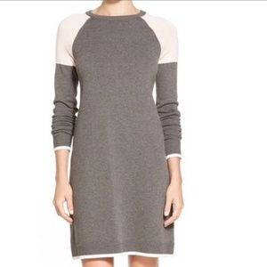 NWT Eliza J Colorblock Long Sleeve Dress